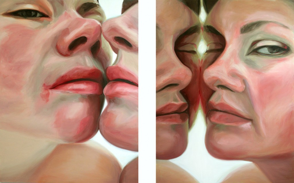 Twin Reflections Diptych