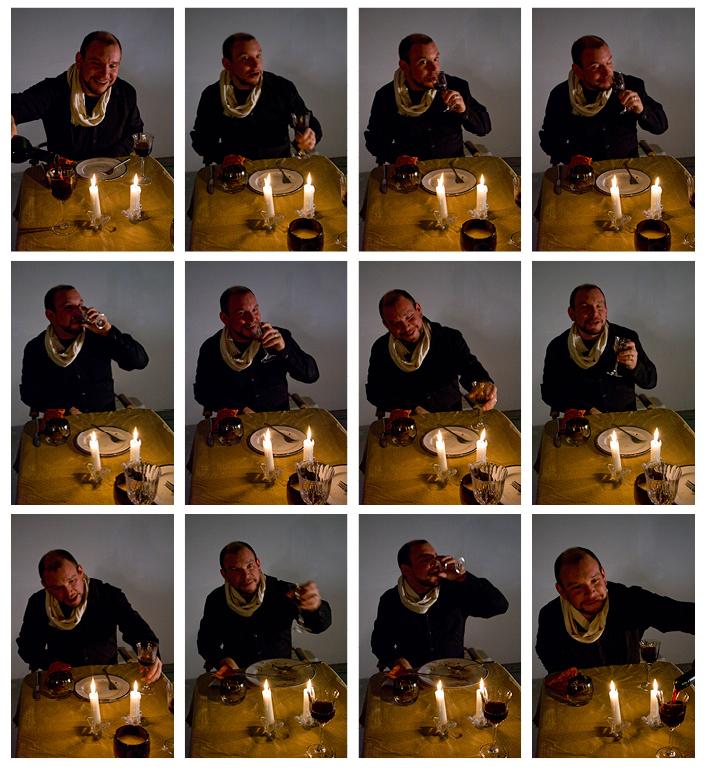 Brendon Eating Photographs
